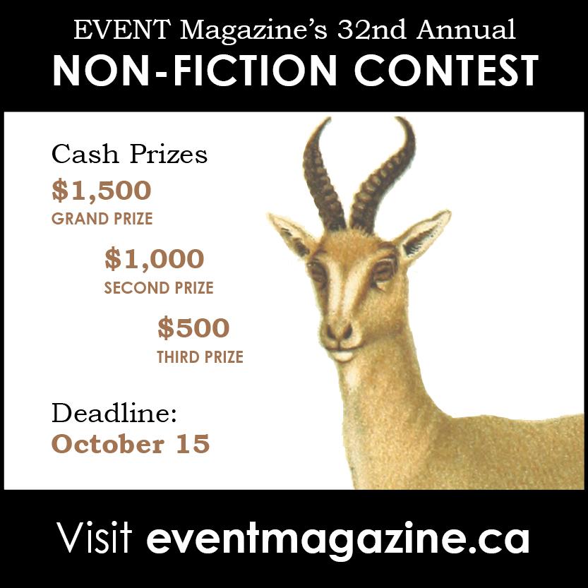 2019 Non-Fiction Contest - EVENTEVENT